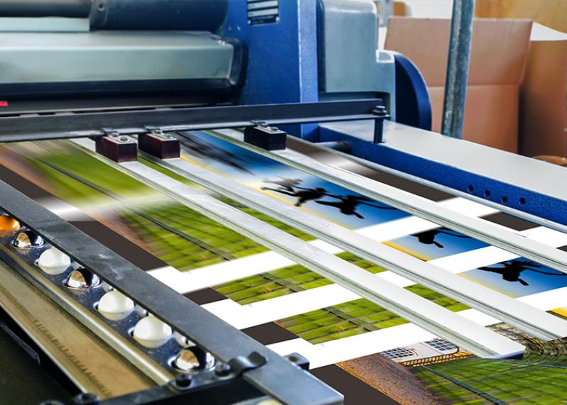 Gráfica de Máquina Flexografia 8 Cores Caieiras - Flexografia Impressão