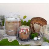 encomenda de embalagem plástico com tampa Santa Isabel