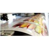 impressão 4 cores offset orçamento Vila Tramontano