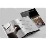 impressão catálogo Jardins