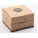 venda de caixa quadrada embalagem Capão Redondo